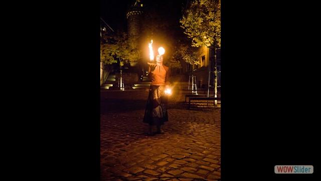 20 Feuer - Jonglage Vili